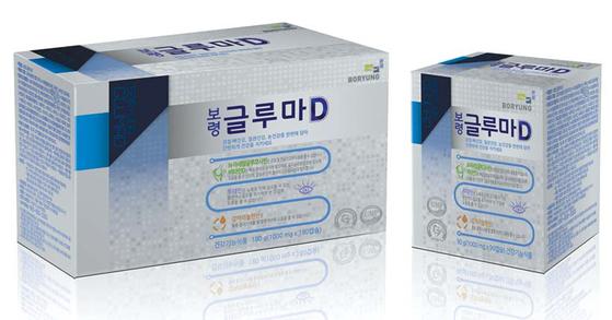 '보령 글루마D'는 뼈·혈관·눈에 좋은 복합건강기능식품이다. [사진 보령컨슈머헬스케어]