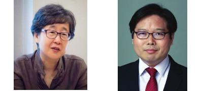 이소연 국가기록원장(왼쪽), 유영식 한국조사기자협회장.