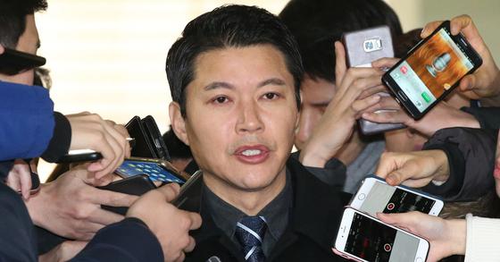 신동욱 공화당 총재. [중앙포토]