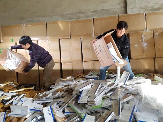 부산본부세관이 압수한 밀수입 담매.송봉근 기자
