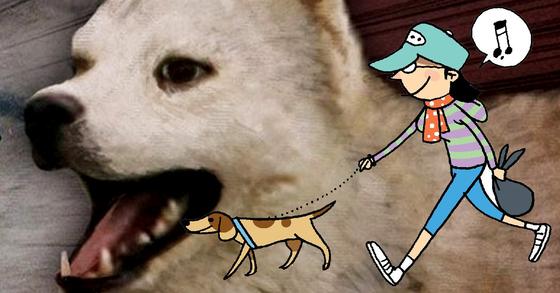 산책하던 여성이 목줄 풀린 개에 종아리를 수차례 물렸다. [중앙포토ㆍ연합뉴스]