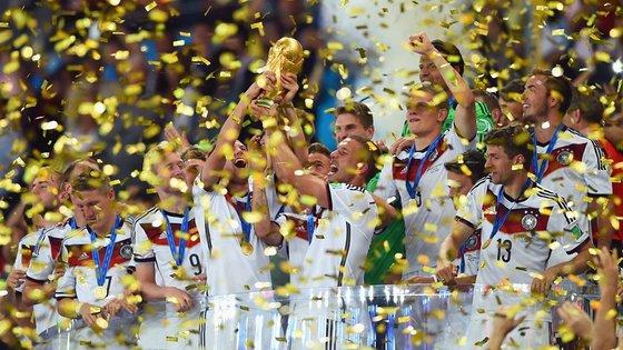 2014년 브라질월드컵에서 우승했던 독일 축구대표팀. [사진 독일축구협회 페이스북]