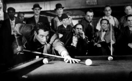 영화 허슬러(1961년)의 한 장면. [허슬러 캡처]