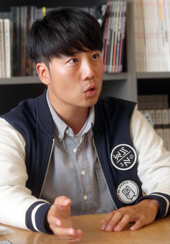 최근 중앙일보 사옥을 찾은 박한빛누리씨. 최정동 기자