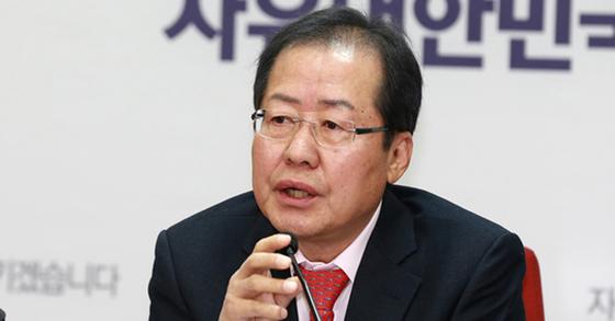 홍준표 자유한국당 대표. 임현동 기자