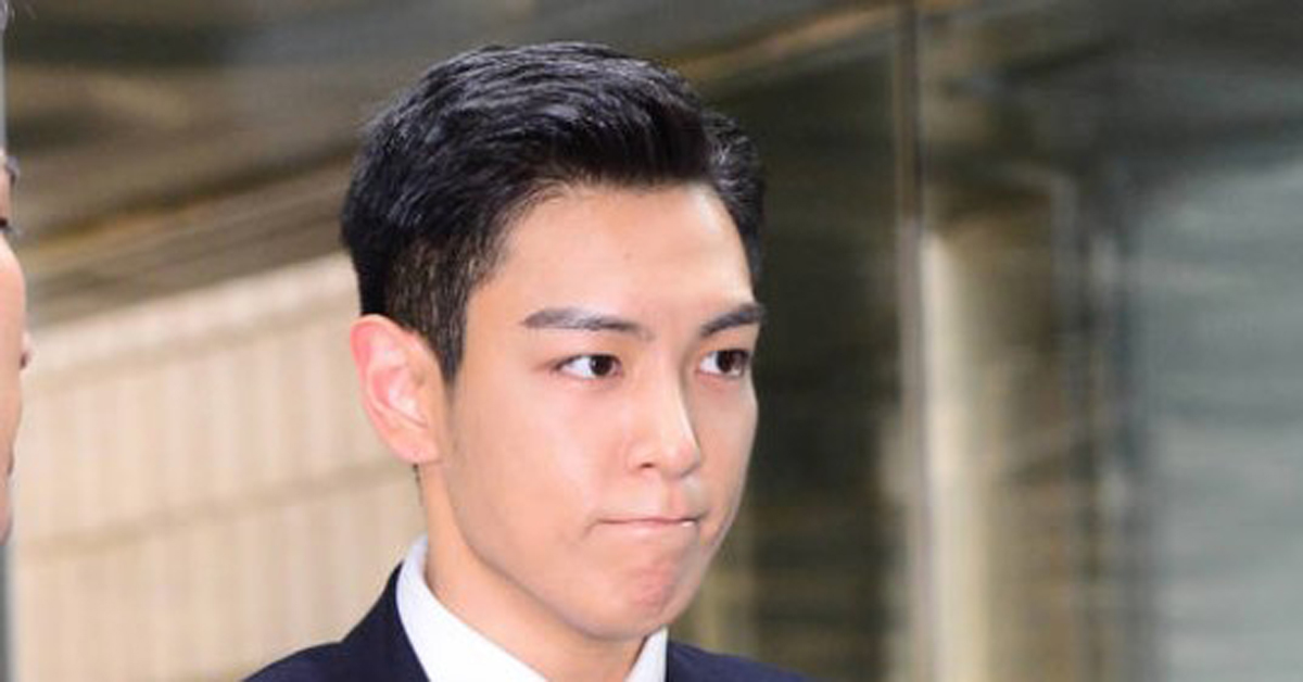 T.O.P on way to trial for charges of smoking marijuana. Seoul Central District Court. Photo by Yang Gwang Sam.