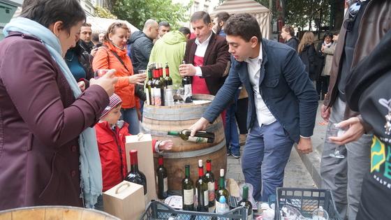 와인의 발원지 조지아. 그래서인지 와인 행사도 많다.