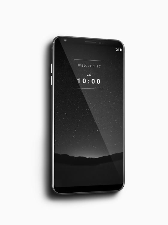 LG전자는 아이폰X보다 더 비싼 200만원대 초프리미엄 스마트폰 'LG 시그니처 에디션'을 300대 한정으로 이달 말 출시한다. [사진 LG전자]