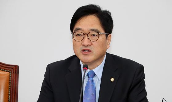 더불어민주당 우원식 원내대표. [연합뉴스]