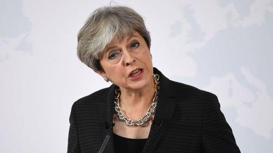 테리사 메이 영국 총리.