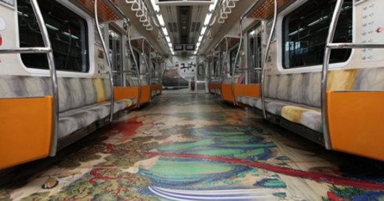 귀향문화열차[사진 서울교통공사]