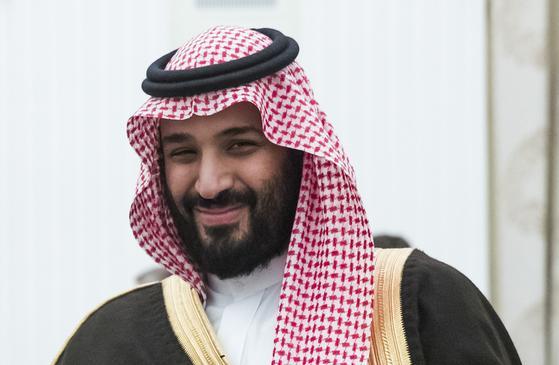 무함마드 빈 살만 사우디 아라비아 왕세자. [AP=연합뉴스]