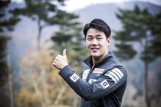 최재우 모굴스키 국가대표 선수. 박종근 기자