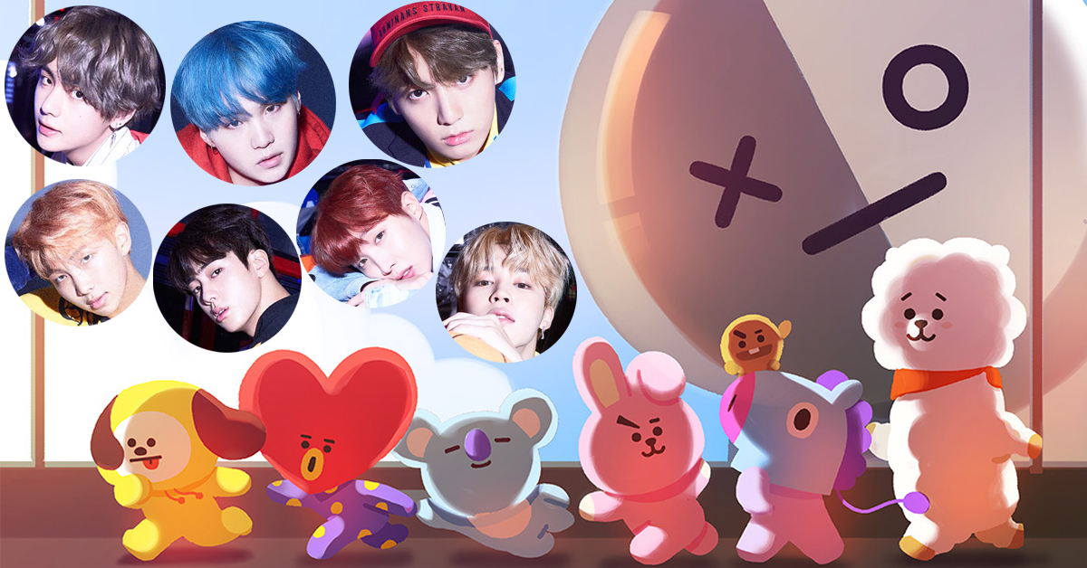 Photo from BT21 official website and BigHit Entertainment.