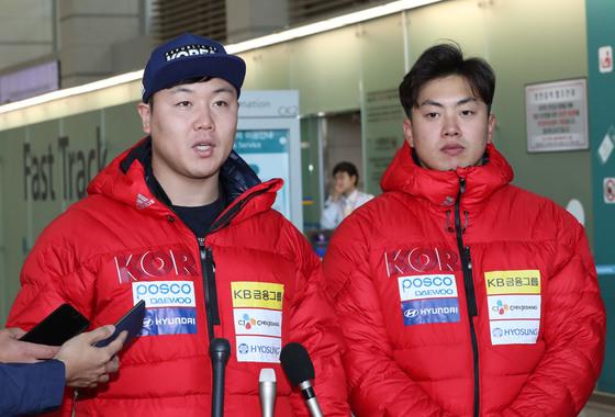 원윤종(左), 서영우(右). [연합뉴스]