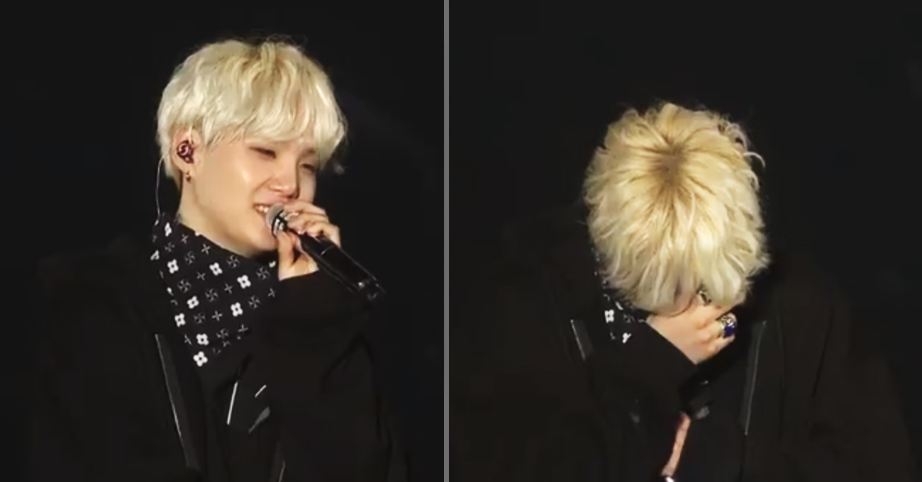Suga S End Of Tour Speech Triggers Cry Fest Among Army And Bts