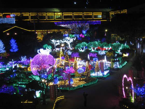 '포천 허브아일랜드' 불빛동화축제. 전익진 기자