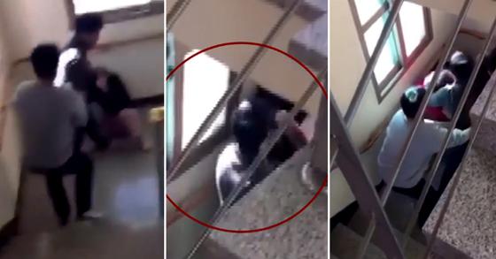 보육시설에 있던 10대 여고생이 버릇없이 행동했다는 이유로 시설 사무국장에게 무차별 폭행을 당한 것으로 드러났다. [사진 YTN 캡처]