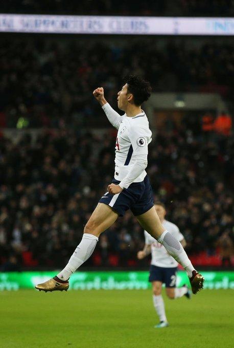 잉글랜드 프로축구 토트넘 공격수 손흥민이 한국갤럽 선정 올해를 빛낸 스포츠스타 1위에 올랐다. [사진 토트넘 트위터]