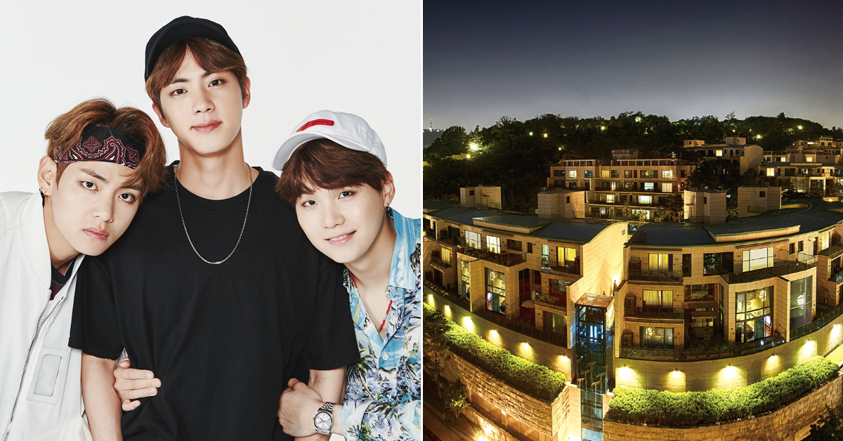 BTS Moves To 'Hannam The Hill', Most Expensive Apartment in