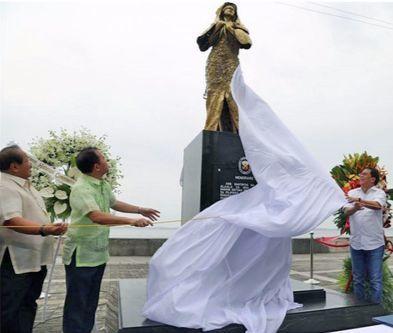 필리핀 첫 위안부 피해자 동상