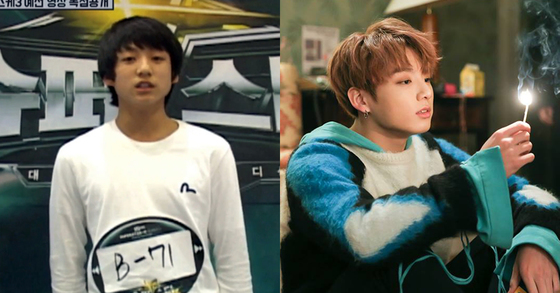 Photo from Mnet(left) and BTS Facebook.