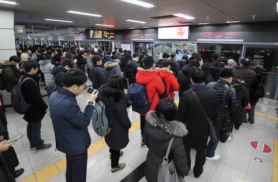 3·7·9호선이 지나가는 고속터미널역.[연합뉴스]