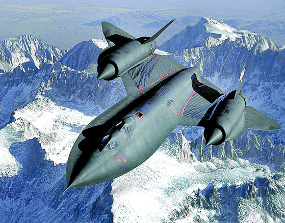 전략정찰기 SR-71 블랙버드. [사진 록히드마틴]