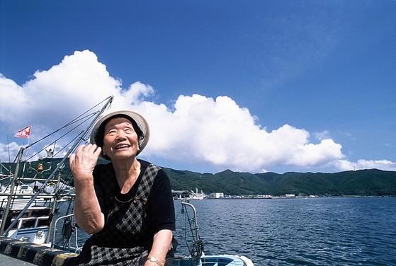 영화 '나의 마음은 지지 않았다' 스틸컷. 위안부 피해자 송신도 할머니의 일본 정부를 상대로 한 10년 간의 법정 싸움을 기록했다.