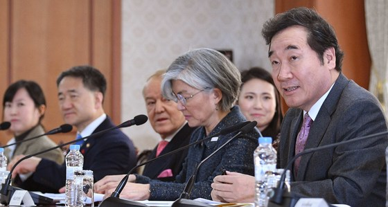 이낙연 국무총리가 지난 18일 오후 서울 종로구 정부서울청사에서 첫 국가관광전략회의를 주재했다. 오종택 기자