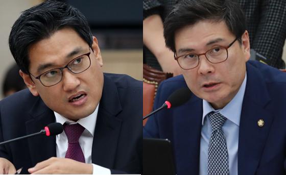 바른정당 오신환, 지상욱 의원 [연합뉴스, 뉴스1]