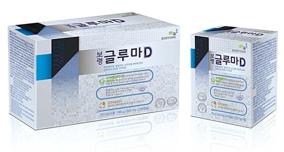 보령 글루마D는 N-아세틸글루코사민 성분 등을 함유해 중장년층과 노년층의 관절·뼈, 혈관, 눈을 위한 복합건강기능식품이다. [사진 보령컨슈머헬스케어]