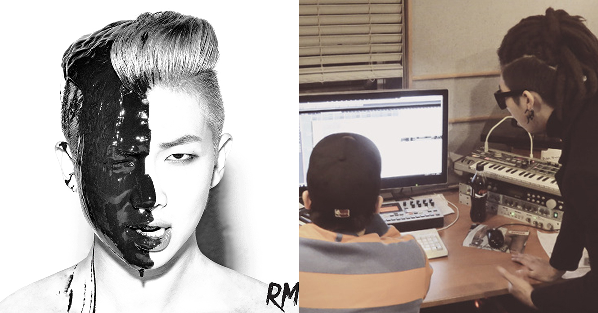 RM. Photo from BTS Blog.