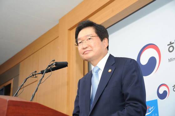 김영석 전 해양수산부 장관 [사진 해양수산부]