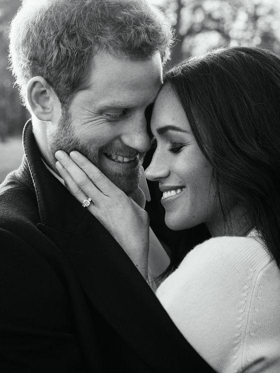 해리 왕자 커플 공식 약혼 사진 [AFP=연합뉴스]
