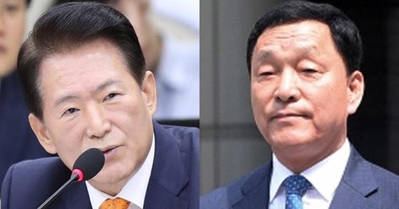 김한표 자유한국당 의원(좌)과 김철민 더불어민주당 의원(우) [연합뉴스, 뉴스1]