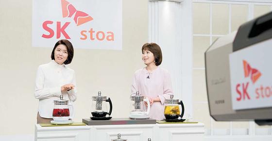 SK stoa는 '국내 No.1 커머스 플랫폼'으로 발전하기 위해 기존 TV 홈쇼핑 고객의 수동적 상품 구매방식을 혁신한다는 전략이다. [사진 SK브로드밴드]