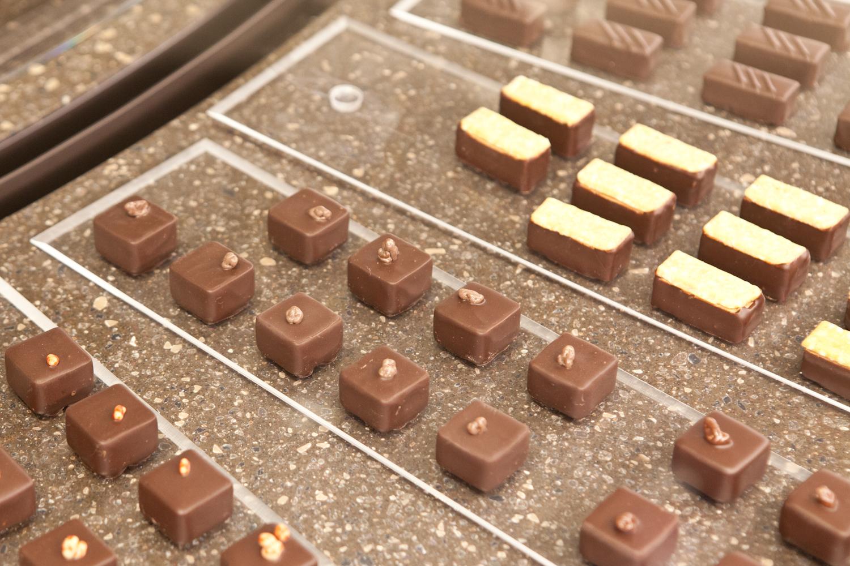 이탈리아 패션 브랜드인 로베르토 카발리의 초콜릿. 최승표 기자