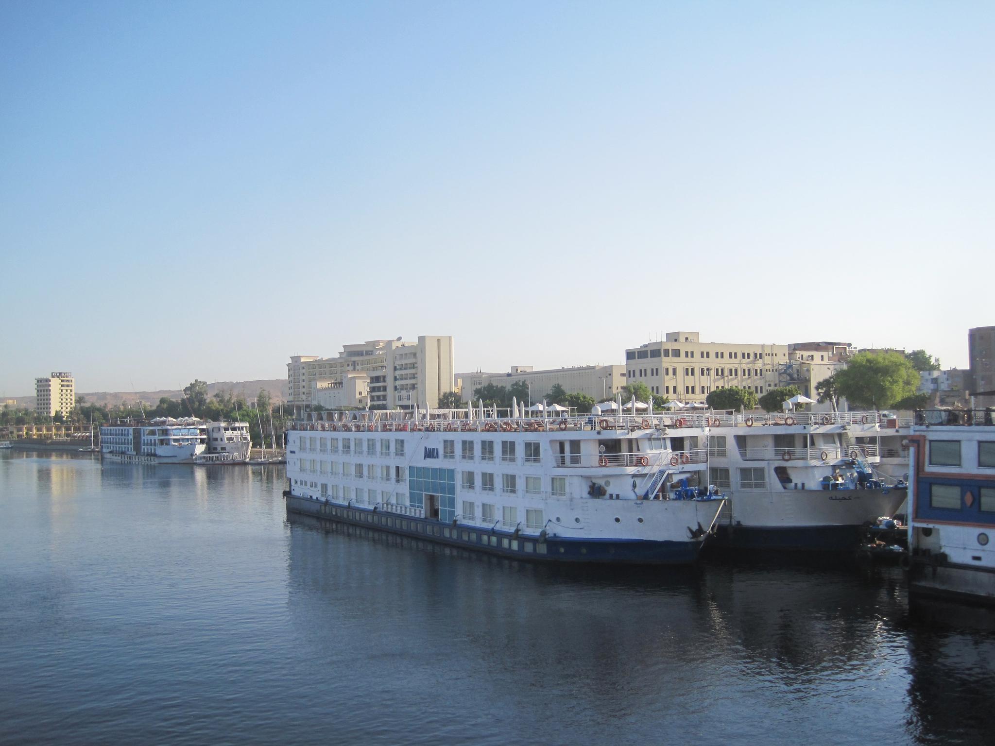 나일강. 나일강 물 이용을 둘러싸고 하류의 이집트와 상류의 국가들이 갈등을 벌이고 있다. [중앙포토]