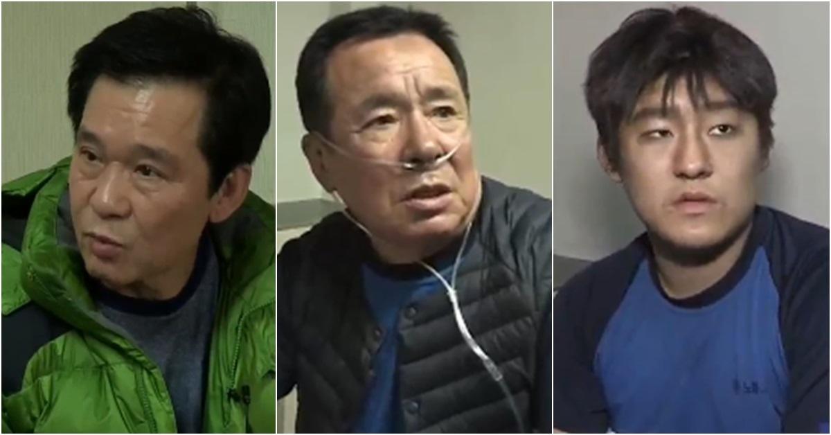 왼쪽부터 이발사 김종수씨, 이상화씨, 이재혁군 [사진 TV조선 방송 캡처]