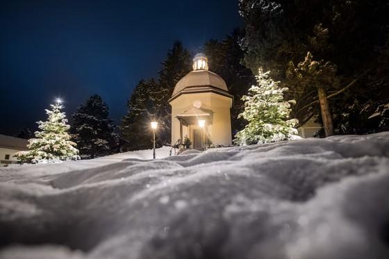 오베른도르프에 있는 '고요한 밤 성당'. [사진 잘츠부르크주 관광청]