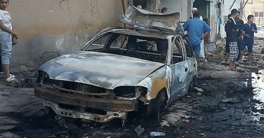 테러 공격이 끊이지 않는 리비아. [연합뉴스]