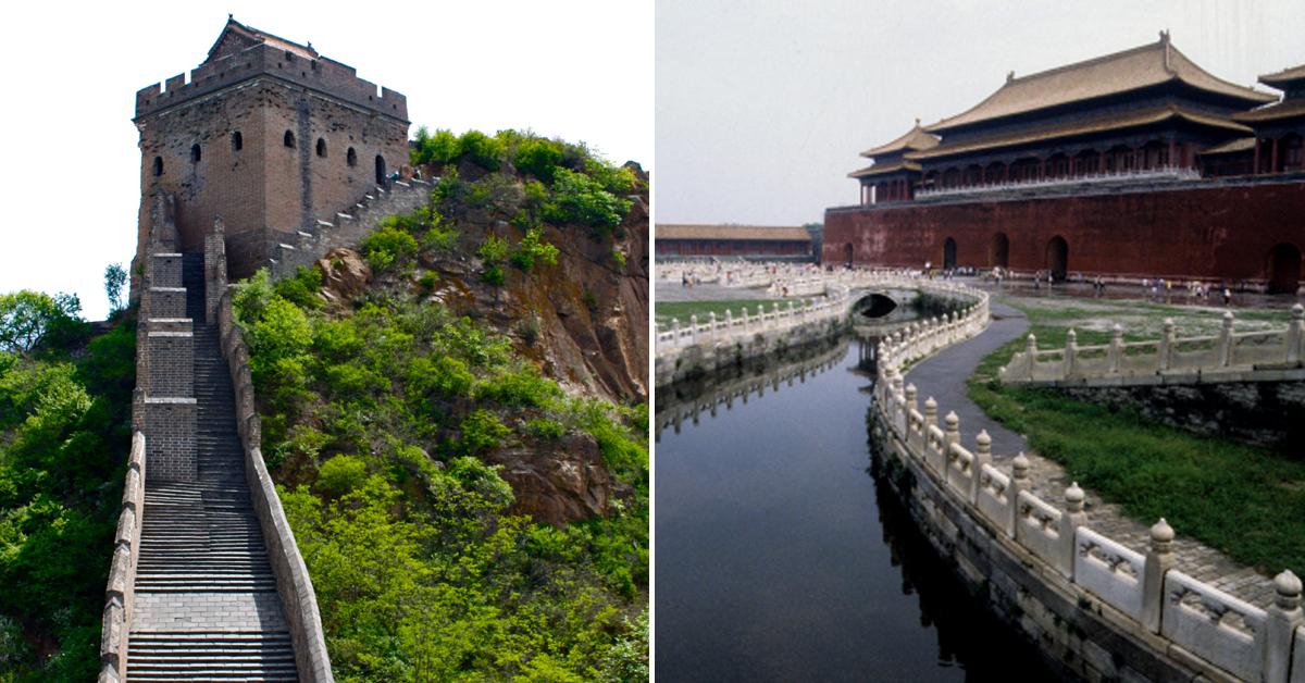 중국의 만리장성(左)ㆍ자금성(右). [중앙포토]