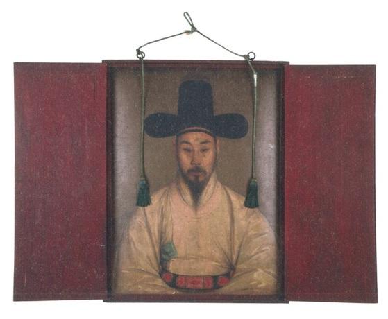 박회수 유화 초상. 작자 미상. 1833년 제작 추정. [사진 국립중앙박물관]