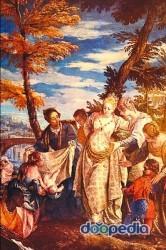 이탈리아의 화가 베로네세가 그린 '모세의 발견'. 모세는 태어나자마자 나일강에 버려졌으나 파라오의 딸에게 발견돼 왕궁에서 자란다. [두산백과]