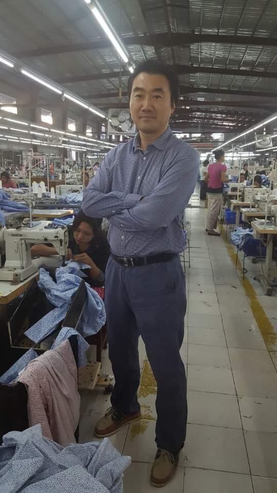 베트남·인도네시아·미얀마에서 10여 년을 보낸 '에이스 어패럴' 김성환 대표는 그 누구보다 동남아 시장의 미래가치를 실감하고 있다. [사진 김성환]
