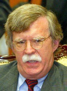 미 국무부 군축,국제안보담당차관과 유엔주재 대사를 지낸 존 볼턴