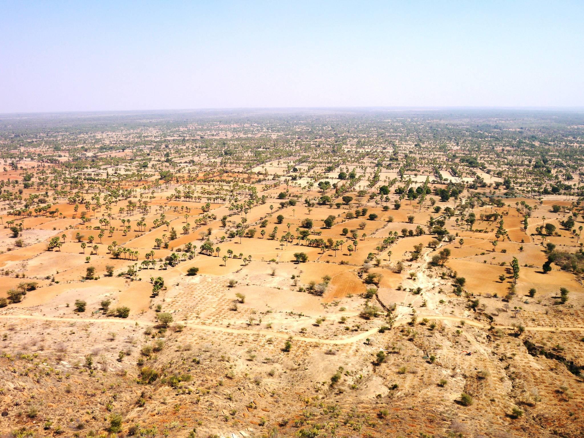 사막화가 빠르게 진행되고 있는 미얀마. [사진 푸른아시아]