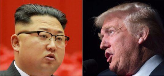김정은 북한 노동당 위원장(왼쪽)과 도널드 트럼프 미 대통령.