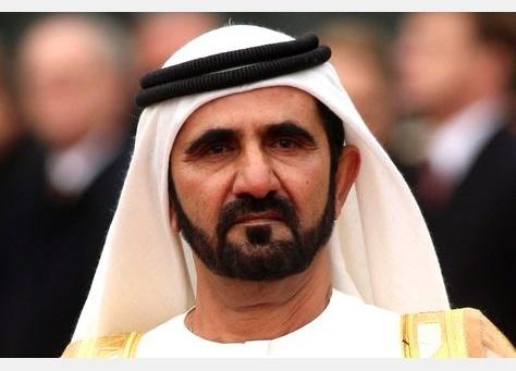 두바이의 에미르이자 아랍에미리트의 부통렴 겸 총리인 무함마드 빈 라시드 알막툼. 만수르의 장인이다.